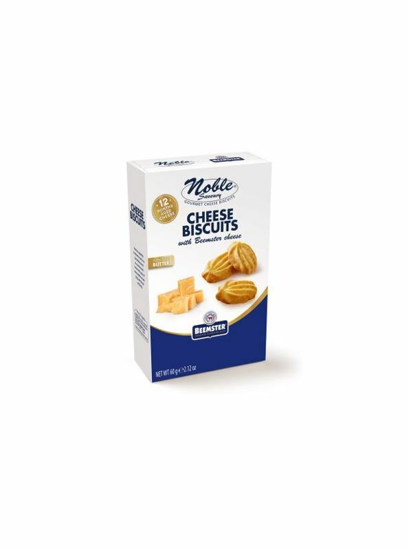 NEW!! Cheese biscuits with real Beemster cheese!