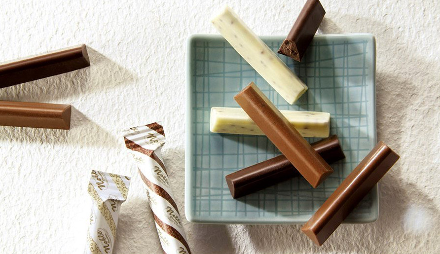 Pure chocolate, irresistible taste.